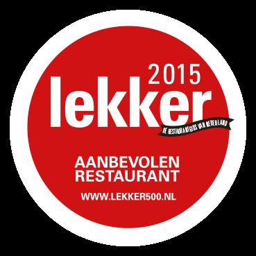 Sticker lekker 2015